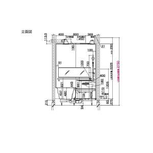 システムバスルーム アライズ Kタイプ S1216(0.75坪)サイズ アクセント張りB面 LIXIL リクシル 戸建用 住宅 ユニットバス 浴槽 浴室 お風呂 リフォーム alumidiyshop 10