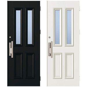 取替用玄関ドア デュガードデュオ DH2250用 ドアセットD-2052-KAG-R(L) YKKap アルミサッシ|alumidiyshop