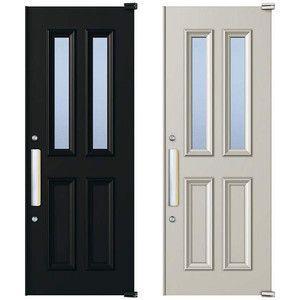取替用玄関ドア デュガードデュオII DH2310用 ドアセットD-2072-KAG-R(L) YKKap アルミサッシ|alumidiyshop