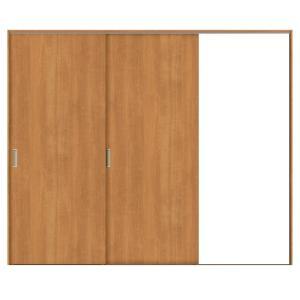 建具 室内引戸 TA Vレール方式 ノンケーシング枠 片引戸 2枚建/EAA(パネルタイプ) 2420 リクシル トステム ドア 交換 リフォーム DIY alumidiyshop