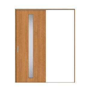 建具 室内引戸 TA Vレール方式 ノンケーシング枠 片引戸 標準タイプ/EGA(カスミガラス) 1420/1620 リクシル トステム ドア 交換 リフォーム DIY alumidiyshop