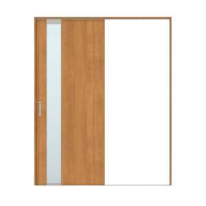 建具 室内引戸 TA Vレール方式 ノンケーシング枠 片引戸 標準タイプ/EGT(エッチングガラス) 1420/1620 リクシル トステム ドア 交換 リフォーム DIY alumidiyshop