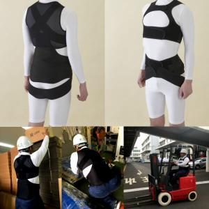 アルファー技研 ルフトベスト Luftvest サイズS 男女兼用 背 腰部サポートウェア インナータイプ|alumidiyshop