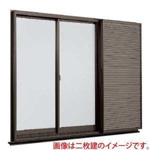 アルミサッシ 雨戸付2枚建 引違い窓 サイズ寸法 18009 W1845×H970mm デュオPG LIXIL/リクシル TOSTEM/トステム 雨戸鏡板付戸袋枠引き違い窓 リフォーム DIY alumidiyshop