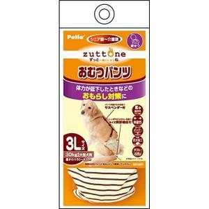 zuttone 老犬介護用 おむつパンツK 3L ペティオ (分類:その他ペット用トイレ用品)|am-netshop