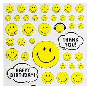 ACTIVE CORPORATION/アクティブコーポレーション SMILEY SEAL スマイル シール(Happy BIRTHDAY / THANK YOU)|amac-store