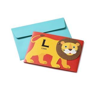 メッセージフォトカード(メッセージカード&フォトアルバムをそのまま送れる)LION コルソグラフィア|amac-store