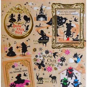 KAMIO JAPAN/カミオジャパン シルエットシール 童話|amac-store