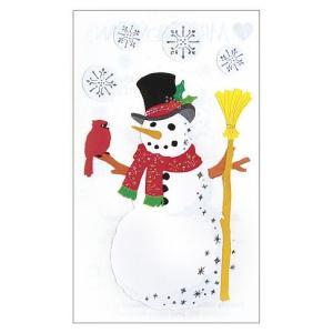 MRS.GROSSMAN'S/ミセスグロスマン  Bright Snowman ゆきだるまと小鳥|amac-store