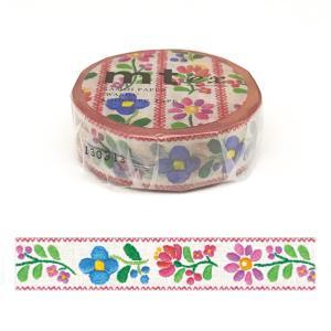 「mt ex 刺繍」マスキングテープ(15mm x 10m : 1 ロール)カモ井加工紙製 amac-store
