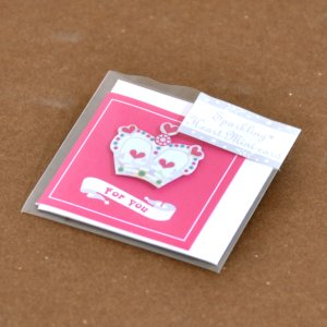 Oriental berry/オリエンタルベリー Sparkling mini card ピンククラウン|amac-store