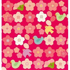 RYU-RYU/リュリュ Circle Seals 桜と小鳥|amac-store