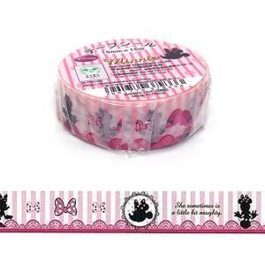 ディズニー「Minnie/ミニー」マスキングテープ(15mm x 15m)sun-star/サンスター|amac-store