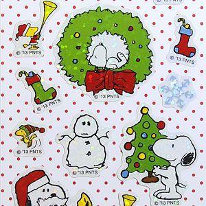 S&C/エス&シー  スヌーピーシール  クリスマス|amac-store