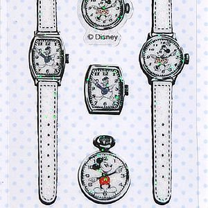 S&C/エス&シー  ルミエール ディズニーシール  ミッキー時計|amac-store