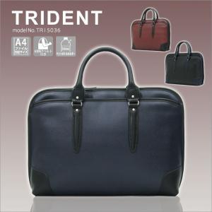 ビジネスバッグ A4ファイル対応 手提げバッグ メンズ ショルダーバッグ シフレ TRIDENT トライデント TRI5036 ブラウン amakusakaban