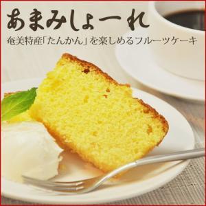 たんかんケーキ 210g 奄美大島 お菓子 お土産|amami-osima