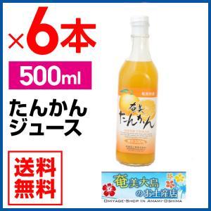 たんかんジュース 500ml×6本セッ たんかん 栄食品 タンカン ジュース ギフト 奄美大島|amami-osima