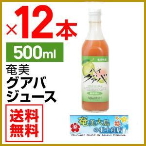 グアバジュース 栄食品 500ml×12本 フルーツジュース 濃縮還元グアバ グァバ 果実ジュース ジュース ギフト|amami-osima