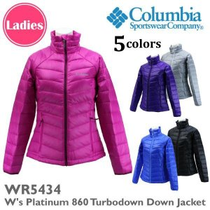 columbia コロンビア Colmubia コロンビア WR5434 ウィメンズプラチナム ターボダウンダウンジャケット レディースアウトドア山ガールファッション 女性婦人用|amatashop