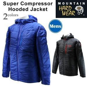 Mountain Hartwear マウンテンハードウェア マウンテンハードウェア OM6272 スーパーコンプレッサーフーデッドジャケット アウトドア登山メンズジャケット 濡れ|amatashop