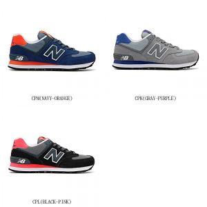 New Balance ニューバランス NB WL574B CPL CPK CPM BLACK ブラック GRAY グレイ  NAVY ネイビー 7027271 靴 シューズ スニーカー レディース ウィメンズ 女性|amatashop