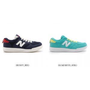 New Balance ニューバランス NB ニューバランス KT300 GA グリーン GB ネイビー サイズ14.0cm-16.0cm 7480121 靴 シューズ ベビーシューズ インファント 幼児用|amatashop
