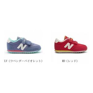 New Balance ニューバランス NB ニューバランス KE410 LIFESTYEL キッズシューズ インファントシューズ 幼児 赤ちゃん子供靴 足にやさしい履きやすい 履かせやす|amatashop