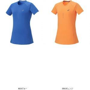 アシックス asics asics アシックス レディースランニングシャツ 127812 SS TOP マラソンジョギングシャツ 動きやすい 吸汗速乾素材 127812 靴 シューズ ランニ|amatashop
