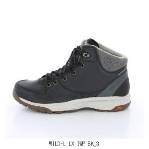 HI-TEC ハイテック WILD-L LX IWP BK 53142766 登山 アウトドア キャンプトレッキングシューズ トレイルランシューズ 登山靴ハイキングシューズ 軽登山靴 メンズ|amatashop