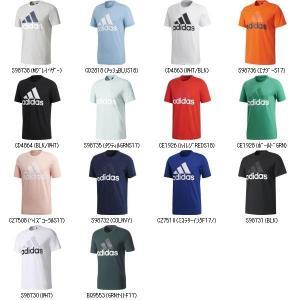 adidas アディダス 71MESSリニアロゴSSTシャツ BVC61 ウェアランニング フィットネスシャツ メンズ男性紳士大人用|amatashop