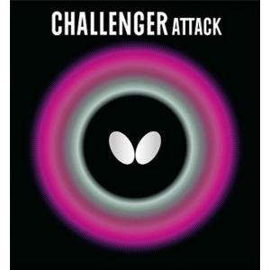 Butterfly バタフライ チャレンジャー・ATTACK 00180 卓球ラバー表ソフトラバー ユニセックス男女兼用|amatashop