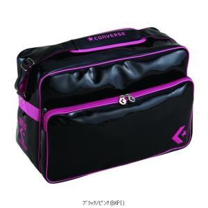 CONVERSE コンバース 2F エナメルショルダーL C863052 バスケットボールアクセサリーバッグ|amatashop