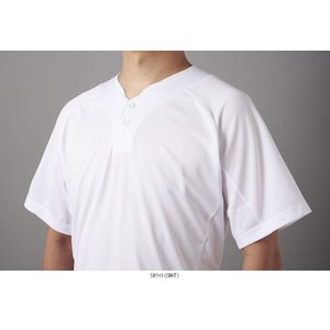 DESCENTE デサント 2ボタンTシャツ DB201 野球 ベースボール ウェアトレーニングシャツ|amatashop