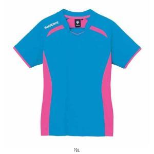 デサント DESCENTE PRACTICE SHIRT DVB5124W バレーボールレディースウエアシャツ|amatashop