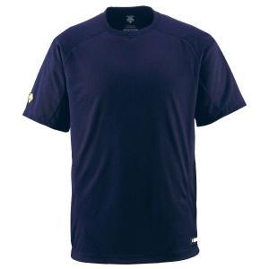 DESCENTE デサント ベースボールTシャツ JDB200 野球 ベースボール ウェアトレーニングシャツ|amatashop