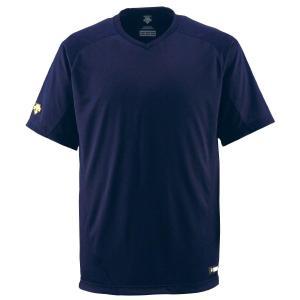 DESCENTE デサント ベースボールTシャツ JDB202 野球 ベースボール ウェアトレーニングシャツ|amatashop