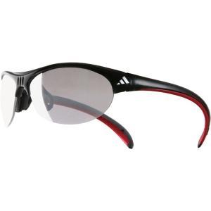 adidas アディダス A123ブラックレッド A123026134 陸上 ランニング マラソンウェアサングラス 大人用|amatashop