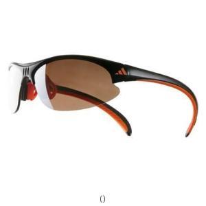 adidas アディダス GOLF ブラックオレンジ A124016070 陸上 ランニング マラソンウェアサングラス メンズ男性紳士大人用|amatashop