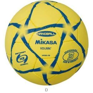 MIKASA ミカサ ハンド3ゴウ レンシュウキュウ キ/クロ HP303YB ハンドボールボールミカサ|amatashop