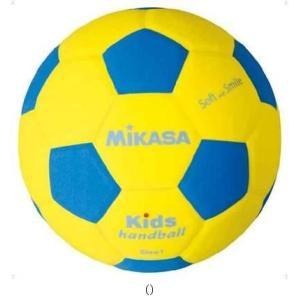 MIKASA ミカサ ハンド1ゴウ アオ/キ SH1YBL ハンドボールボールミカサ|amatashop