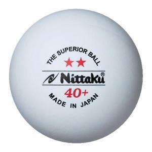 ニッタク Nittaku プラ2スター40WHT 3ケイリガ1 /セット販売 数量4 NB1320 ...