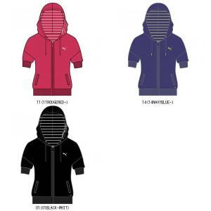 PUMA プーマ PUMA プーマ SS ジャケット ウィメンズスポーツフィットネスジャケット 丈が長めで女の子らしいかわいいデザイン 820857 ウェアランニング|amatashop