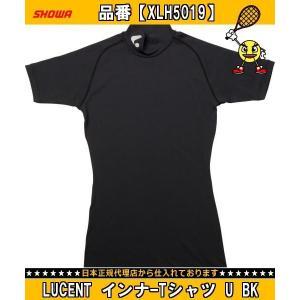 SHOWA ショーワ LUCENT インナーTシャツ U BK XLH5019 テニスメンズウエアT...