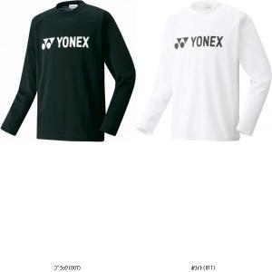 ヨネックス YONEX ユニロングスリーブTシャツ 16158 TOP種目別スポーツバドミントンウェ...