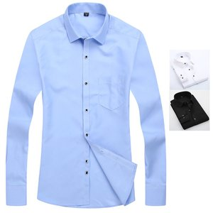フォーマルシャツ メンズ 白シャツ ワイシャツ Yシャツ ビジネスシャツ 長袖シャツ メンズファッシ...