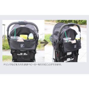 ベビーカー用 バッグ ドリンクホルダー 小物入れ 収納 日本正規品保証1年アメリカ人気ブランド J.L. Childress   カップホルダー|amazing-green|08