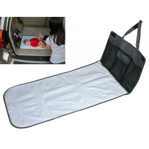 おむつ替えマット シート 防水 小物入れ 収納付きマット 持ち運びできる!旅行 お出かけに 車のシートに取り付け可能 J.L. Childress|amazing-green