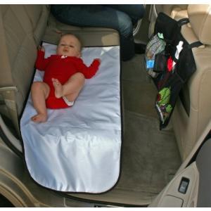 おむつ替えマット シート 防水 小物入れ 収納付きマット 持ち運びできる!旅行 お出かけに 車のシートに取り付け可能 J.L. Childress|amazing-green|05