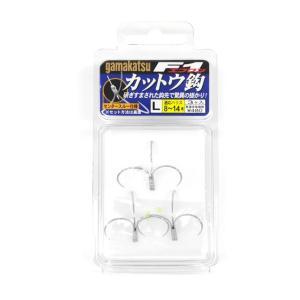 Gamakatsu : がまかつF1 カットウ鈎 L 3本入りタチウオジギング フック|amberjack